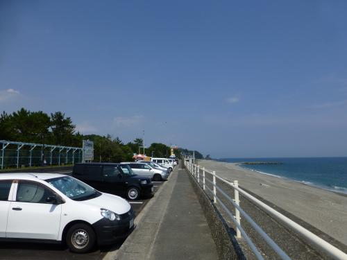 2013年8月桂浜道路