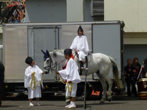 公家行列-幡多農の馬