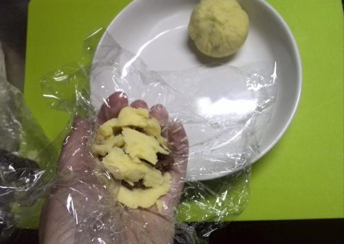 肉ソボロ入りコロコロポテト作り方