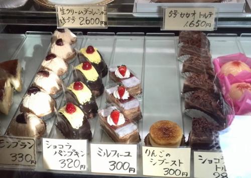 北本大福堂のケーキ