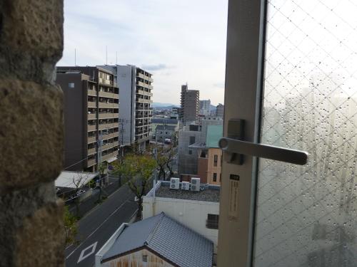 セブンデイズホテルプラスから見る街