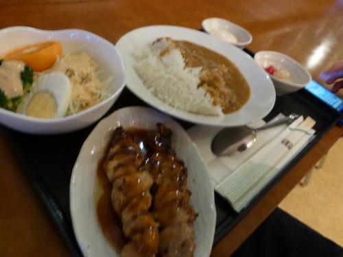 チェックイン松山-150円カレー