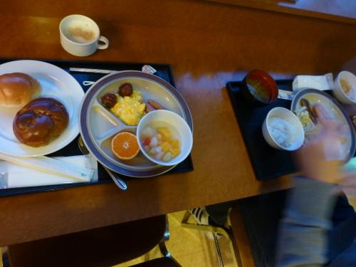 チェックイン松山-朝食