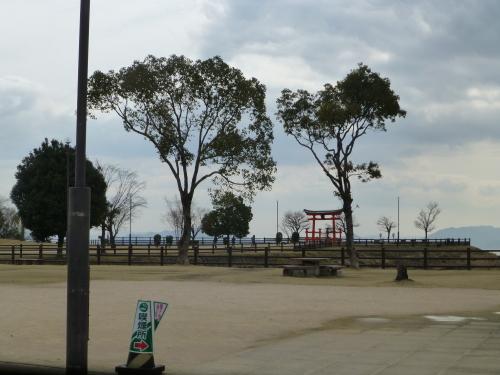宮島・厳島神社のレプリカ