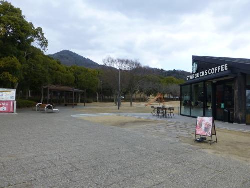 宮島サービスエリア・スタバ
