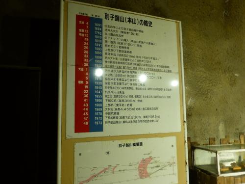 マイントピア別子・観光坑道