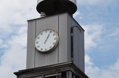 南国市道の駅のからくり時計