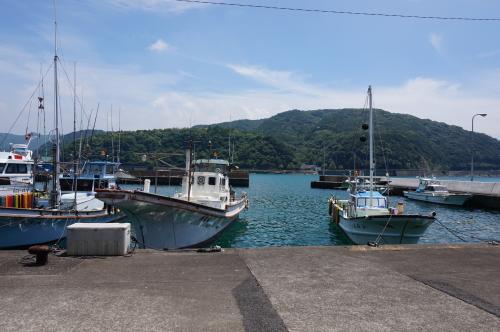 土佐清水市の港
