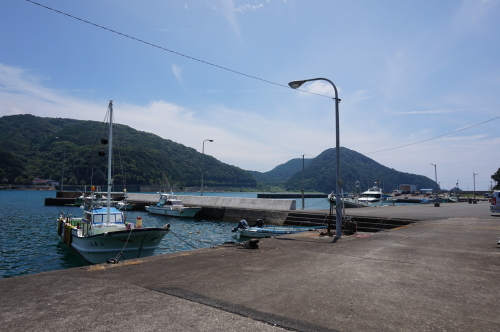 土佐清水の港
