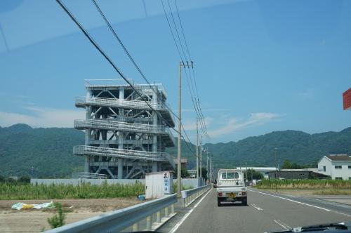 大岐に津波タワー