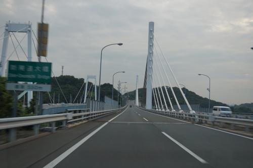 しまなみ海道・新尾道大橋・尾道大橋