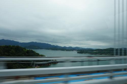 しまなみ海道・因島大橋から見える風景