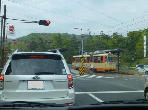 道後・電車