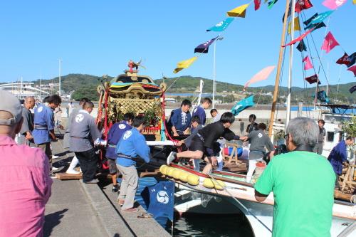 鹿島神社大祭-神輿