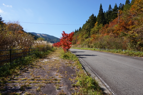 小田スキー場近く