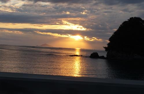 20151119の夕日