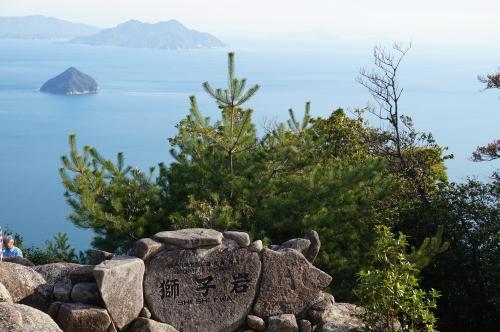 獅子岩からの絶景