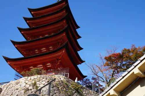 宮島・五重塔