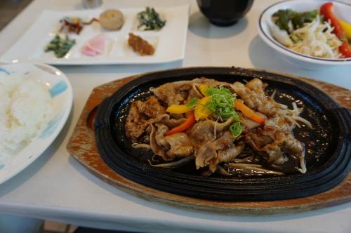 内子豚のもろみ味噌焼き
