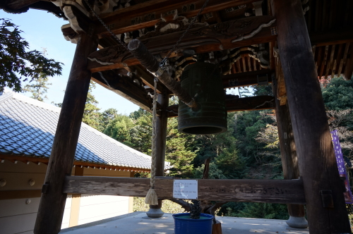 宮島、大正院の鐘