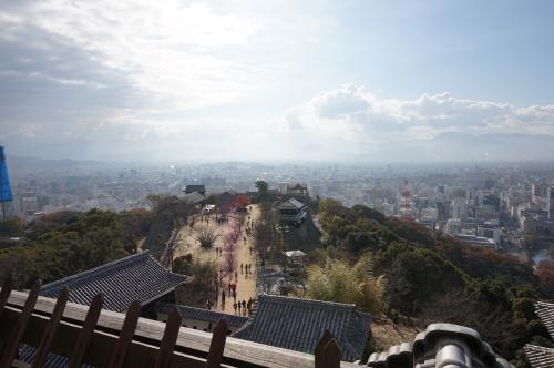 松山城、天守閣