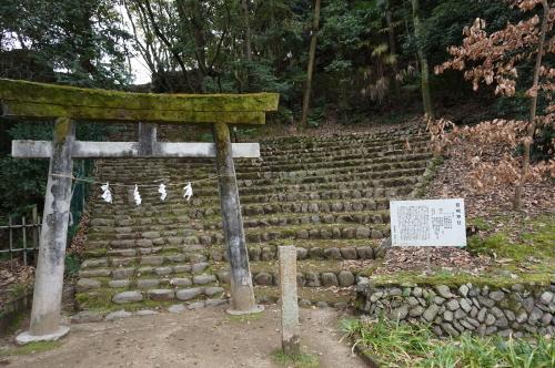 道後公園 岩崎神社