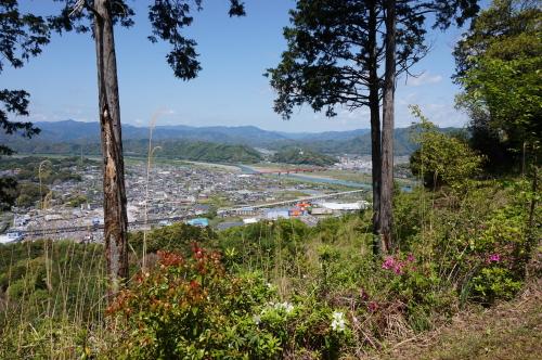 香山寺からの風景