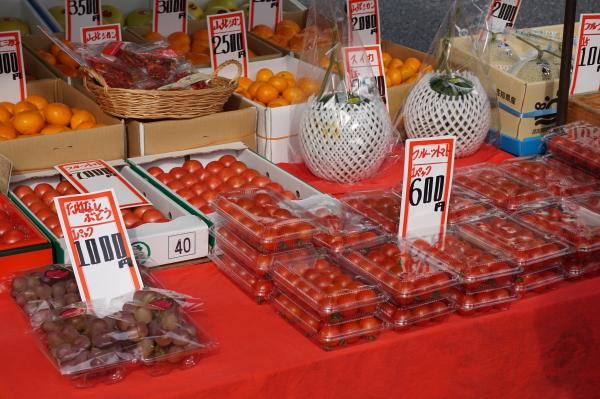 土佐の日曜市-フルーツトマト