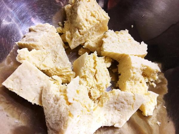 冷凍豆腐でから揚げ