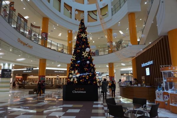 エミフルのクリスマスツリー