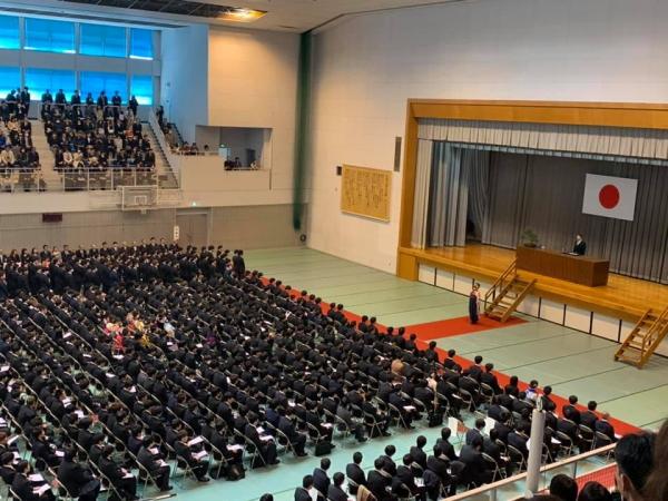 広島工業大学卒業式