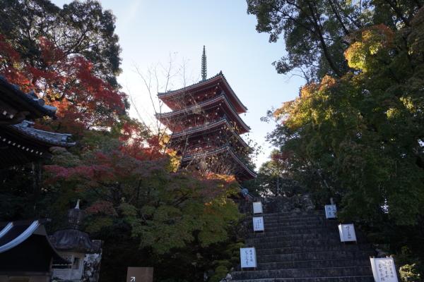 竹林寺・五重塔