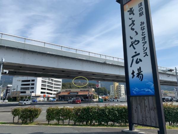 きさいや広場から宇和島城